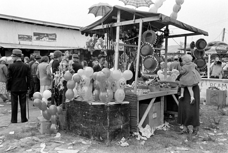Old Photos Of A Pre War County Fair In West Virginia