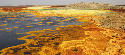 The Danakil Desert, Eritrea