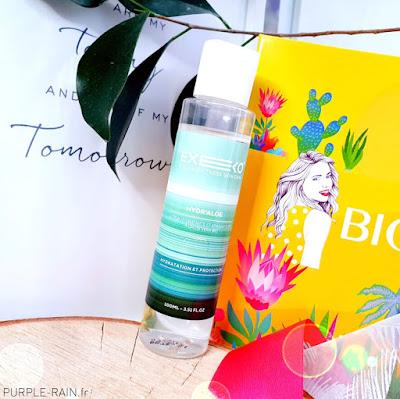 Biotyfull Box d'Août 2020 : 100% Aloe Vera