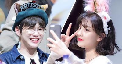 Jihyo and Kang Daniel