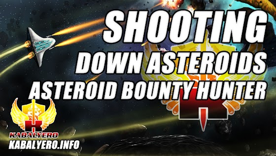 Shooting Down Asteroids ★ Asteroid Bounty Hunter (A Gameplay Video)