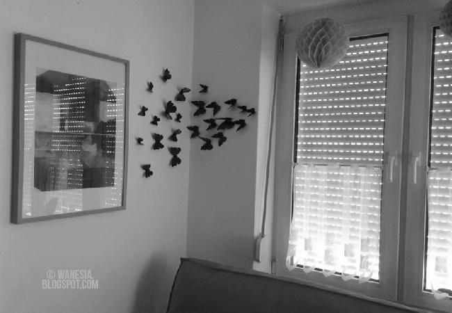 Farfalle da muro / WANESIA