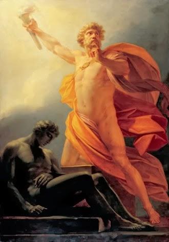 Resultado de imagem para prometeu god and hercules