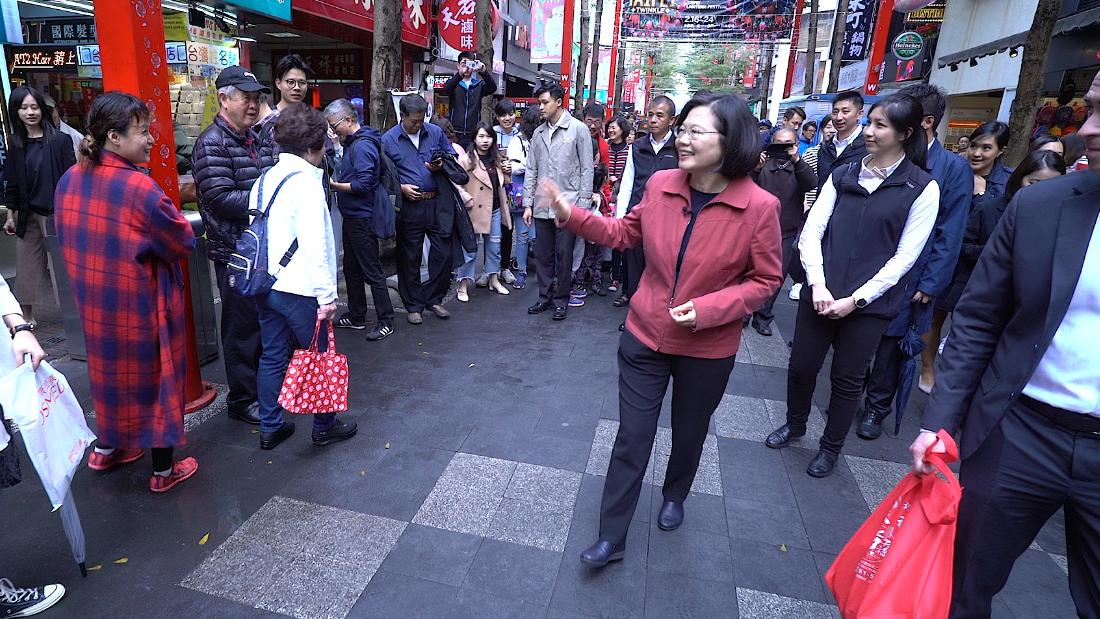 Taiwan's President Thanks Voters After Winning Reelection