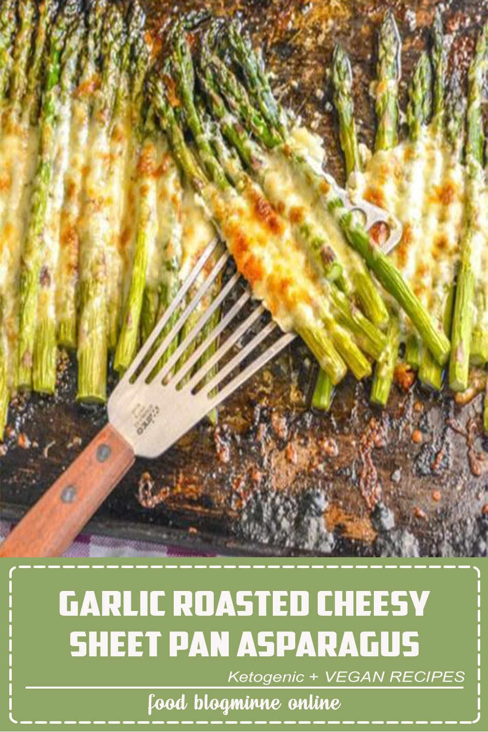 Looking for a new way to fix asparagus? This Garlic Roasted Cheesy Sheet Pan Asparagus is made on a single pan, within 20 minutes, and comes out perfect every single time. It's a sure side dish to turn just about any meaty meal into a hearty dinner.