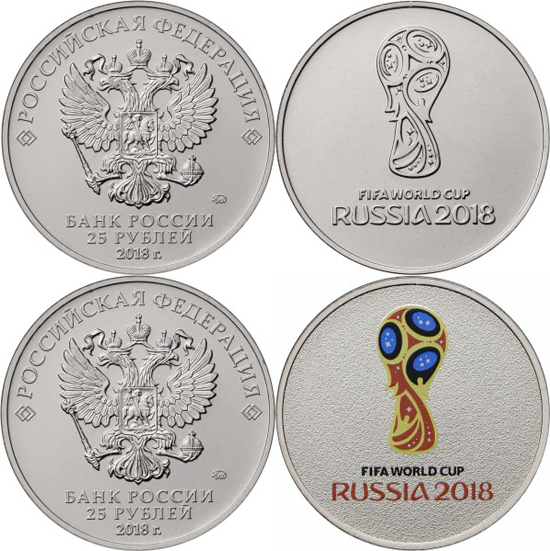 COMMEMORATIVE MEDALS. ALL 32 MEMBER COUNTRIES FIFA WORLD CUP 2018