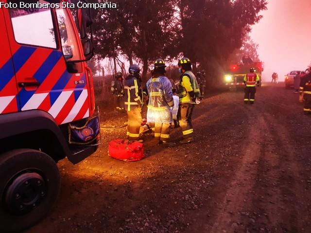 Osorno: accidente de tránsito deja una persona lesionada