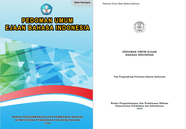 Buku Pedoman Umum Ejaan Bahasa Indonesia Terbaru 2016