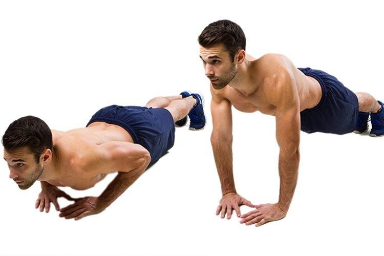 Elmas Şınav diğer şınav türlerine göre daha etkili ve zor bir harekettir, direk kolun arka bölümünü çalıştırır.