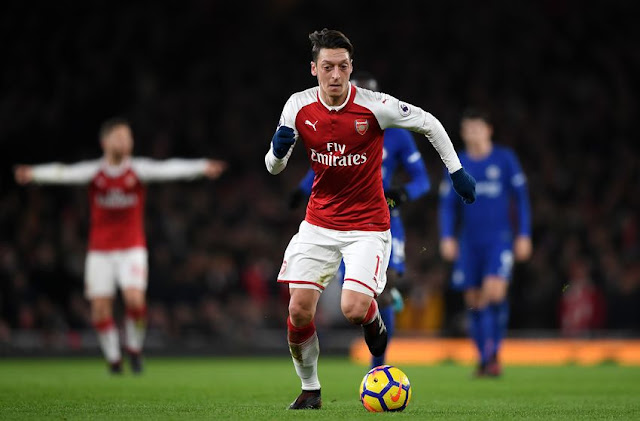 'Ozil Rejected £1M-A-WEEK Offers To Sign Arsenal Extension,' Says Player's Agent