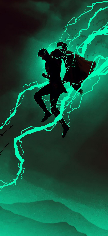 Thor Minimalist Lightning 4k Wallpaper 168