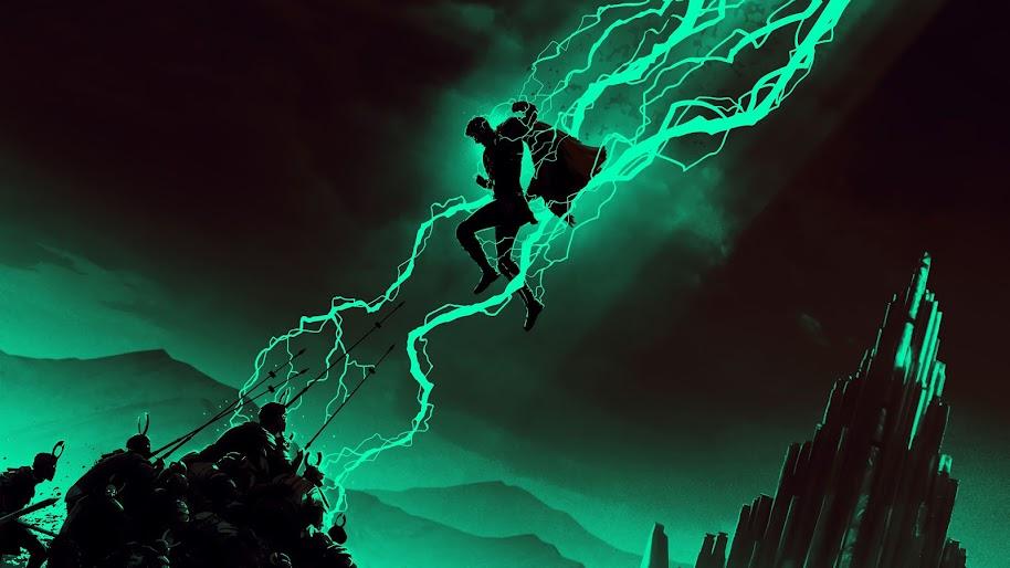Jack Skellington Iphone Wallpaper Thor Minimalist Lightning 4k 168 Wallpaper