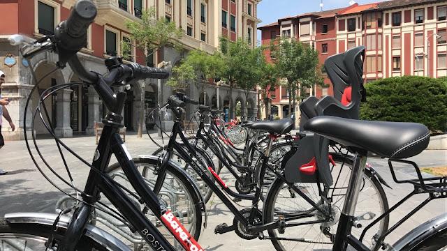 Bicicletas del servicio de préstamo gratuito