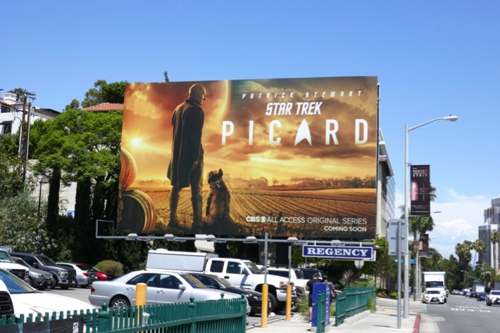 Star Trek Picard CBS All Access billboard