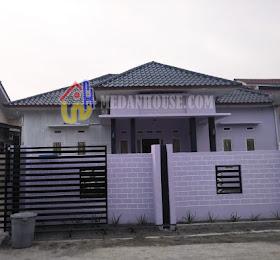 dijual rumah Halaman Belakang Luas, 2 KT, 3 KM, di dalam komplek daerah letda sujono tembung simpang jodoh <del>Rp 850 Juta </del> <price>Rp 800 Juta </price> <code>TTN-02</code>