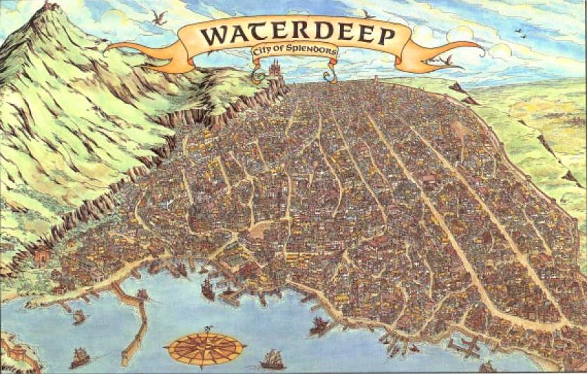 The Wertzone: Cities of Fantasy: Waterdeep, City of Splendours