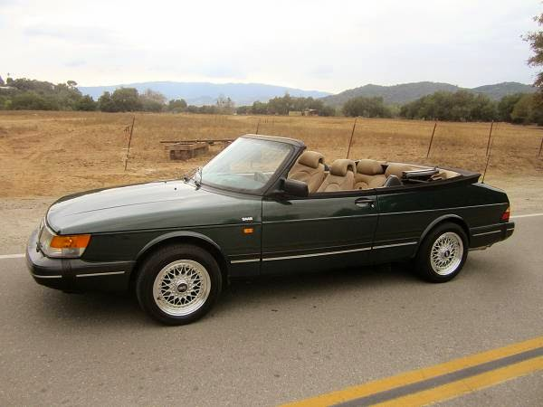 very nice 1992 saab 900s convertible auto restorationice. Black Bedroom Furniture Sets. Home Design Ideas