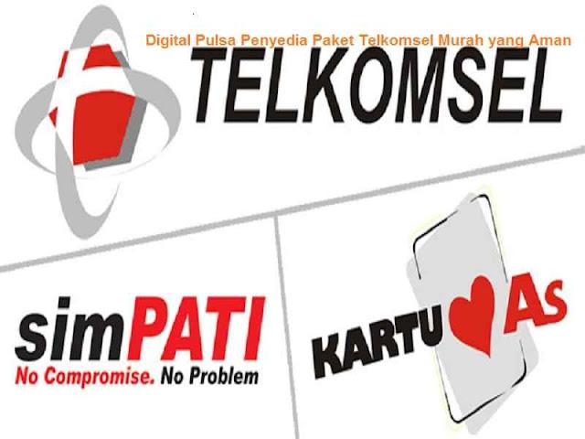 Digital Pulsa Penyedia Paket Telkomsel Murah yang Aman