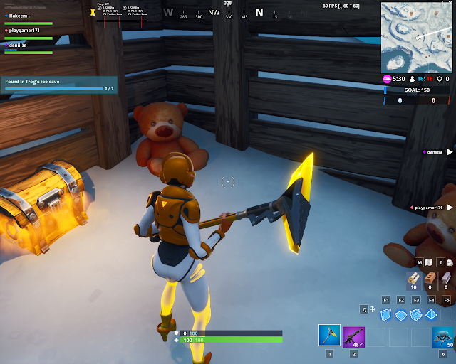 Found in Trong's ice cave FORTBYTE Mission #49