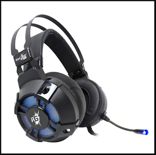 Redgear Cosmo 7.1 USB Wired Gaming Headphones with RGB LED Effect Rs. 1999.00