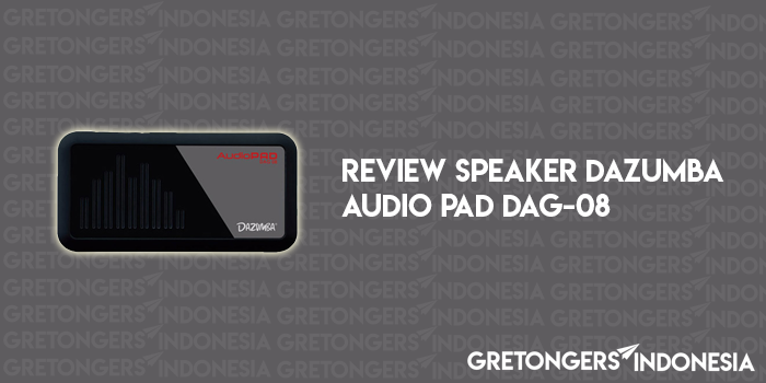 Review Speaker Portable Dazumba Audio PAD DAG-08 dari Shopee
