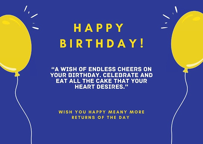 Easy to Share Birthday Wishes Greetings and Messages