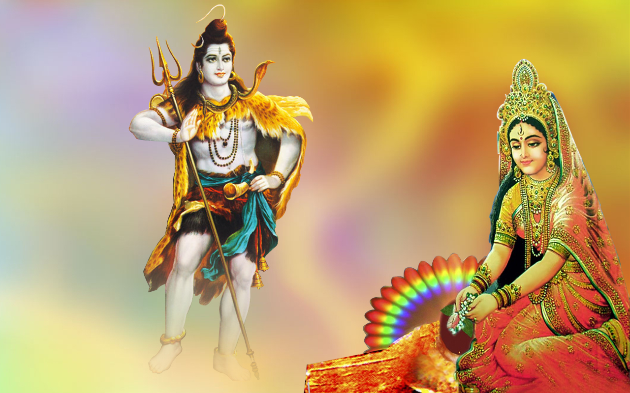 shiv parvati images free download