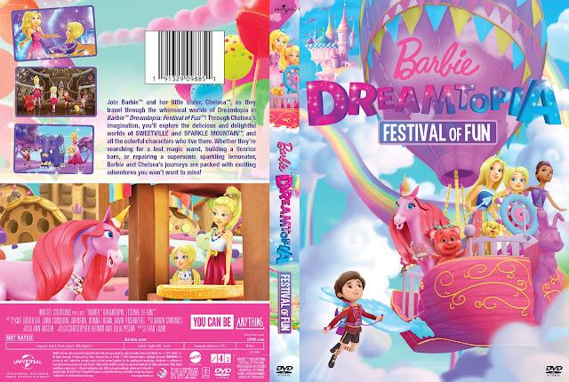 Barbie Dreamtopia: Festival of Fun DVD Cover