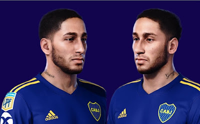 PES 2021 Faces Alan Gonzalo Varela by Gordoumbanda