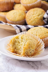 These tender and sweet banana bread muffins have the BEST banana flavor, and they're so easy to make!