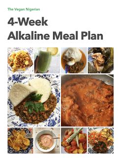 vegan alkaline meal plan