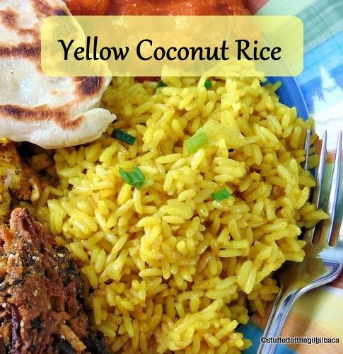 Yellow Coconut Rice