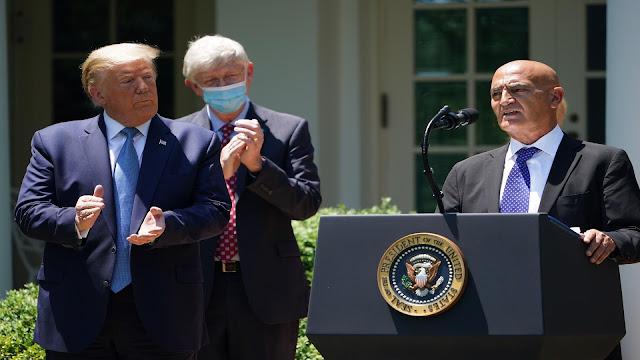الرئيس الأمريكي يؤكد أن لقاح كورونا سوزع في هذا التاريخ القريب جدا