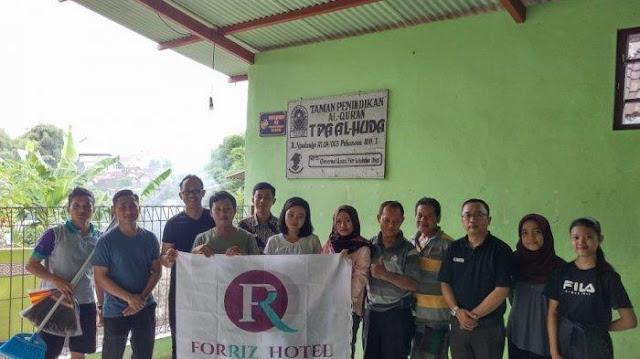 Sambut HUT Ke-2, Forriz Hotel Yogyakarta Lakukan Kerja Bakti