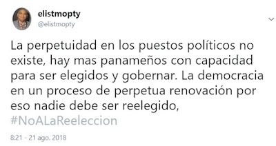 #Noalareeleccion