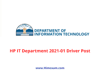 HP IT Department 2021-01 Driver Post
