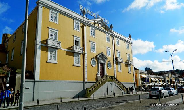 Casa da Vinícola Ramos Pinto, no Cais de Vila Nova de Gaia