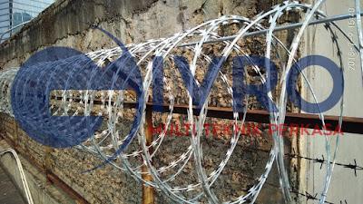 Pabrik Kawat Silet Galvanis Termurah