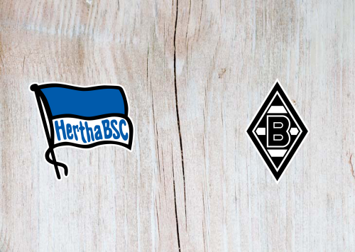 Hertha BSC vs Borussia M'gladbach -Highlights 21 December 2019