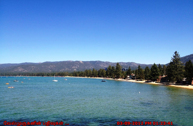 Clear Blue waters of Lake Tahoe