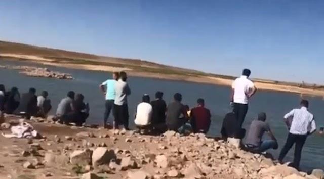 Suya giren 3 kardeş boğuldu