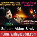 http://www.humaliwalayazadar.com/2017/10/saleem-akbar-sirsivi-nohay-2018.html