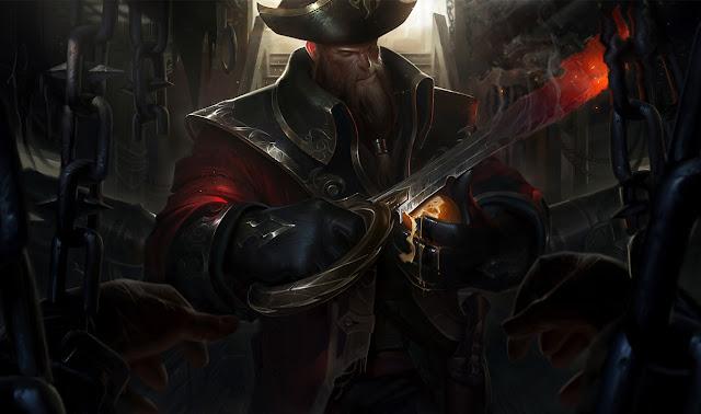 Mod Skin Gangplank Captain