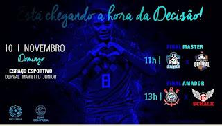 Finais do Amador e Master de futebol da Ilha no domingo 10/11  contarão com narração de Otacílio Júnior e árbitro da CBF