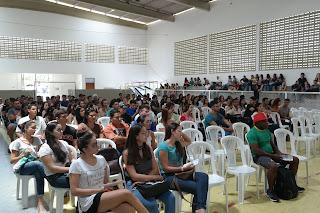 Campus Cuité da UFCG recepciona os feras 2019.1