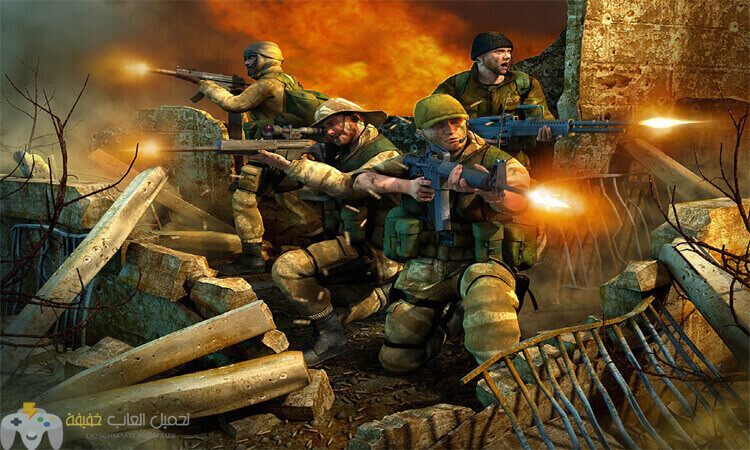 تحميل لعبة عاصفة الصحراء Conflict Desert Storm 2 مضغوطة للكمبيوتر