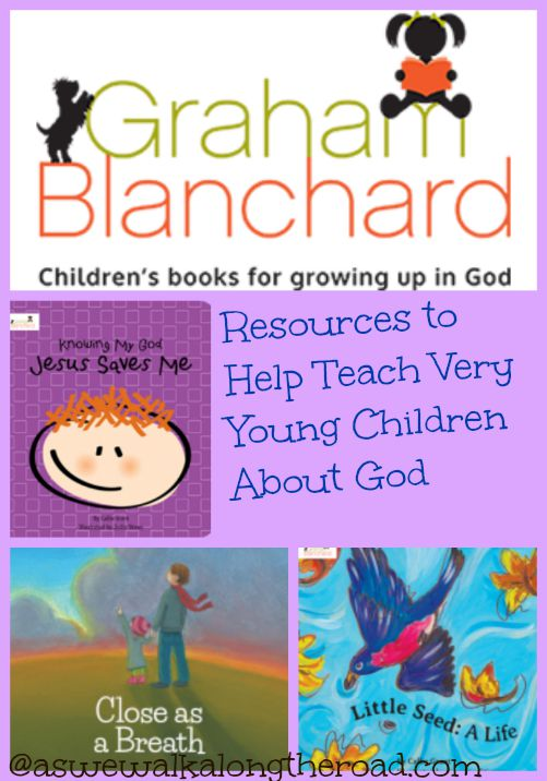 Review of books that introduce very young children to concepts about God