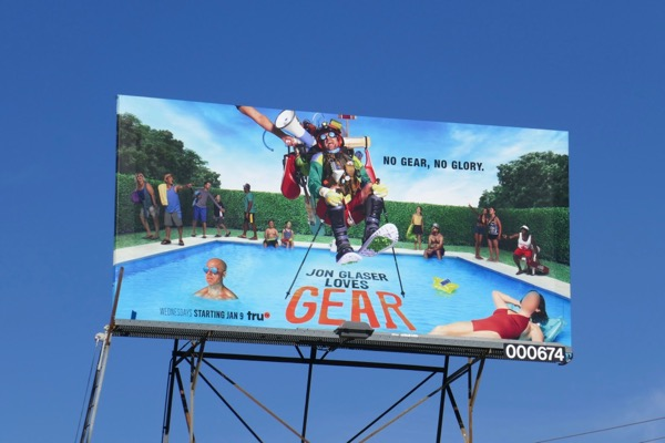 Jon Glaser Loves Gear season 2 billboard