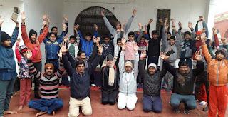 Jaunpur : योगी ध्रुवराज ने किया बाल संस्कार शिविर का आयोजन