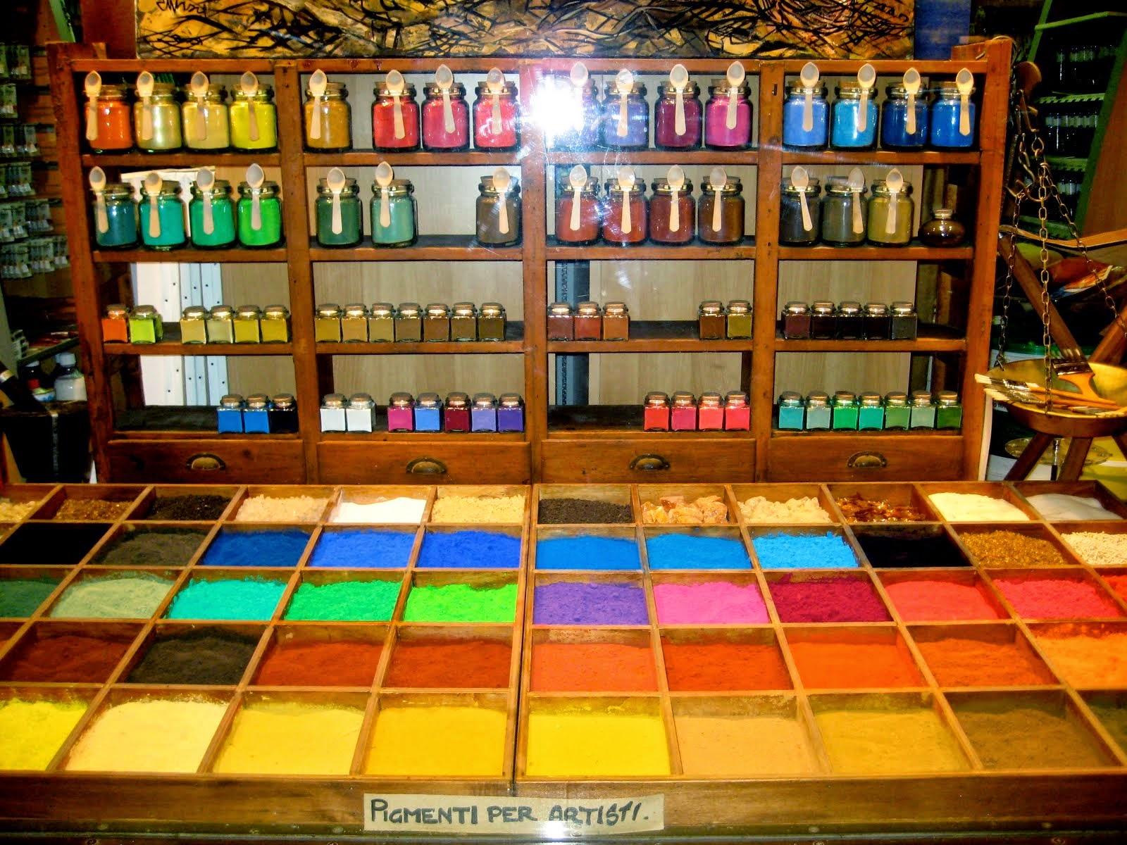 Come si usano i pigmenti per dipingere